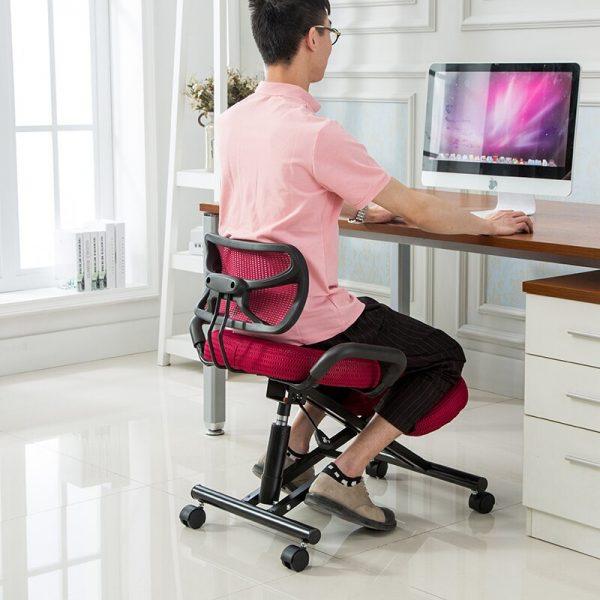 sedia da ufficio indicata per otto ore di lavoro giusta postur