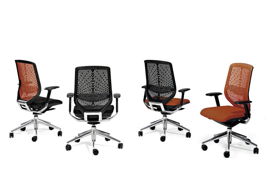 rivestire una sedia da ufficio
